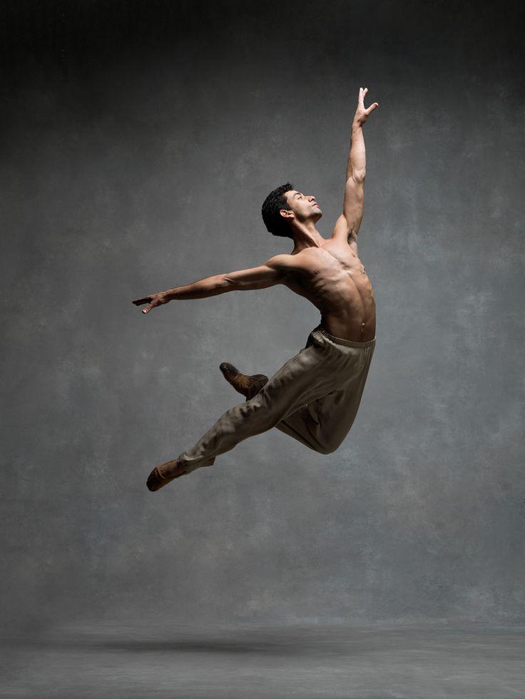 Kleber Rebello, Principal dancer, Miami City Ballet, NYC Dance Project.