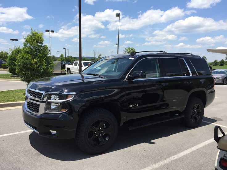 Chevy Tahoe 2017 Z71 Midnight Edition