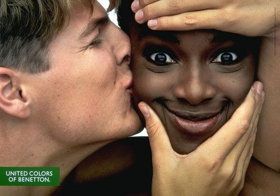 United Colors of Benetton by Oliviero Toscani. #advertisement
