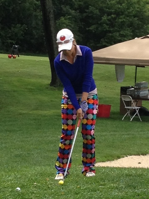 Golf4Her Ambassador Sara Hurwitch getting her 4th career hole-in-one | LPGA Symetra Tour, South Bend, IN
