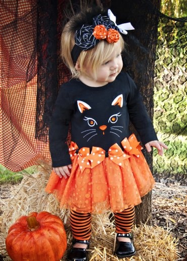 Girls Halloween Dress & Legging Set Fall 2012NOW IN STOCK!12 Months to 6X