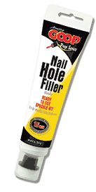 Just used this amazing spackle.....to fill in nail holes in the wall....and cat scratches in the door frame!!  :-)