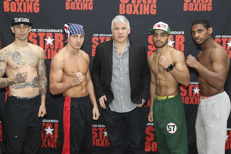 ESPN Friday Night Fights Weigh In Results