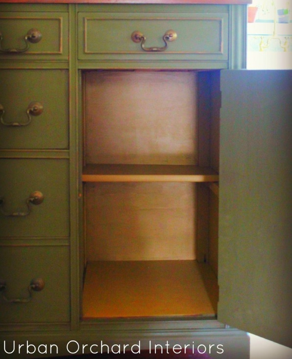 Chalk Paint Kitchen Cabinets Green: 17 Best Images About Chalk Paint® Olive On Pinterest