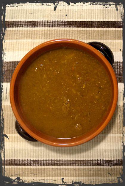 Zuppa speziata di carote e lenticchie