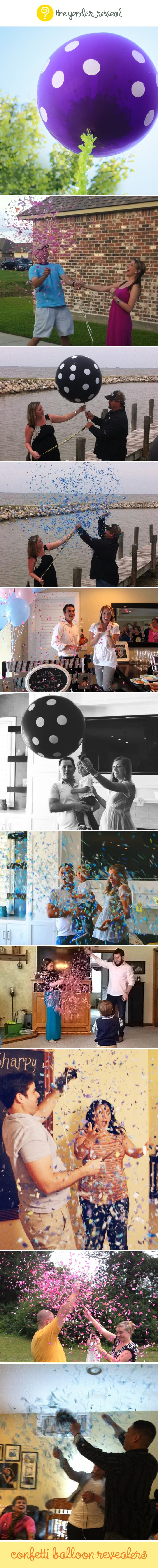 mobile shopping online Confetti Balloon Revealers  genderreveal     I would use this if I ever did a gender reveal