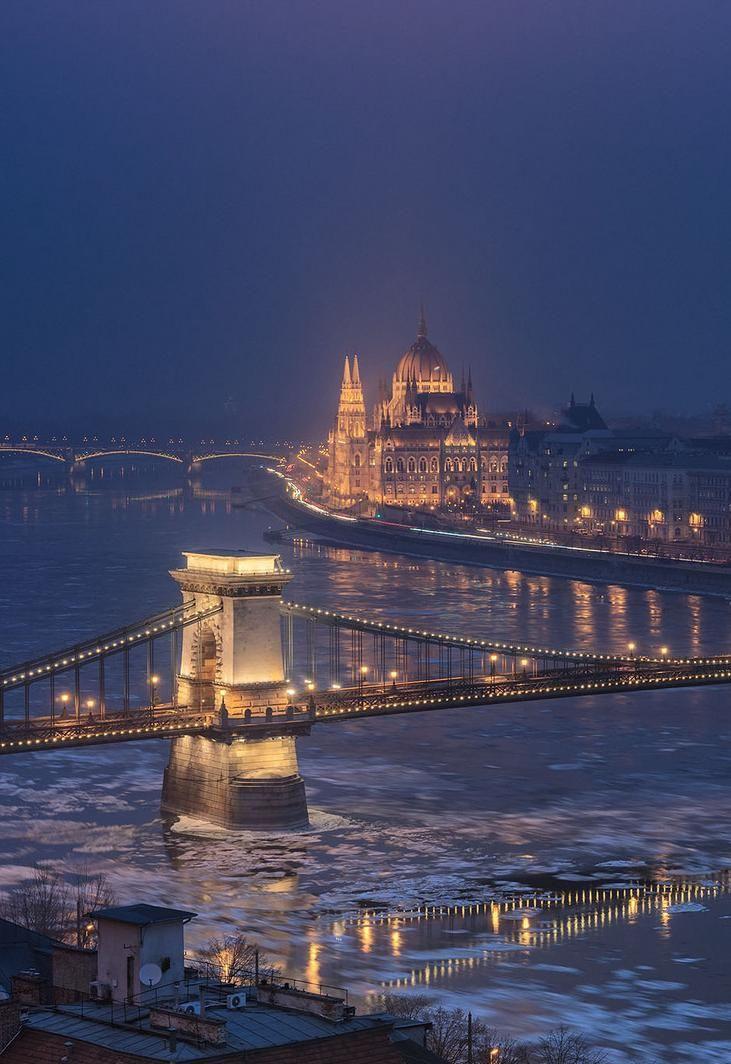 Cold Budapest by David Bertho