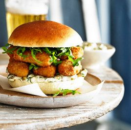 Posh Fish Finger Sandwich? Don't mind if I do...