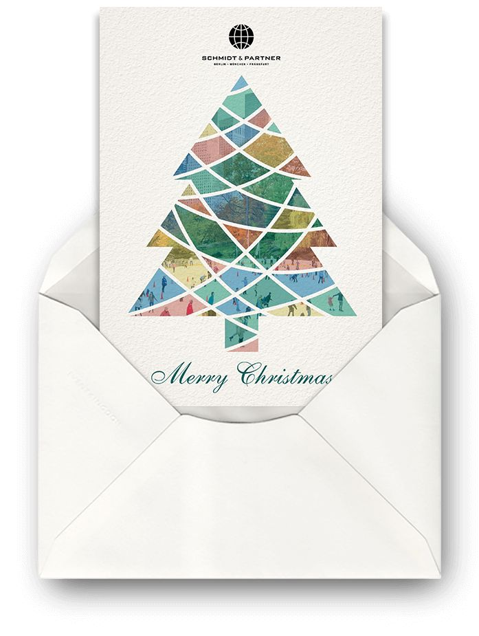 Paper Corporate Holiday Greetings
