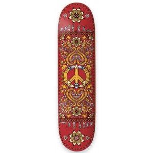 Drawing Boards Peace Pro Skateboard Deck - 8.25