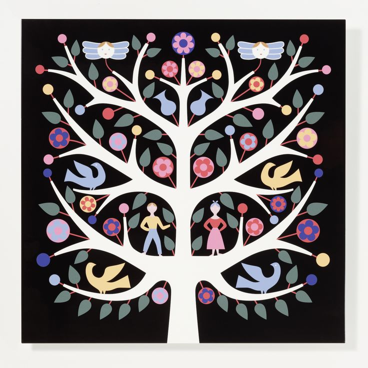 Vitra - Tree of Life, Graphic Wall Panel - Alexander Girard