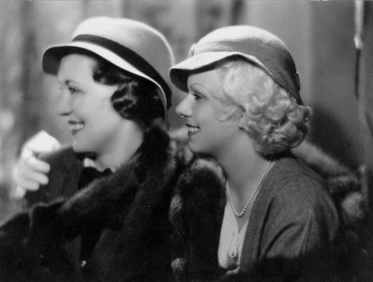 Lois Wilson and Jean Harlow c. 1933
