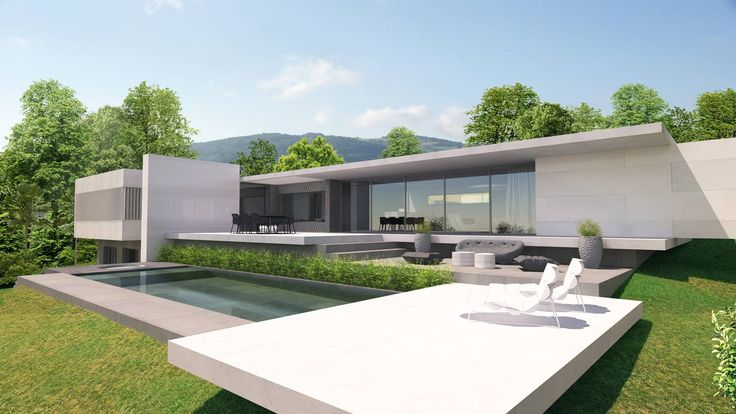 les 45 meilleures images du tableau maisons contemporaines sur pinterest maisons. Black Bedroom Furniture Sets. Home Design Ideas