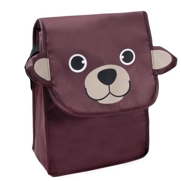 "Paws N Claws Lunch Bag - Lunch bag; 210D Polyester with Mylar (R) lining; insulated; 7"" W x 9"" H x 4"" D."