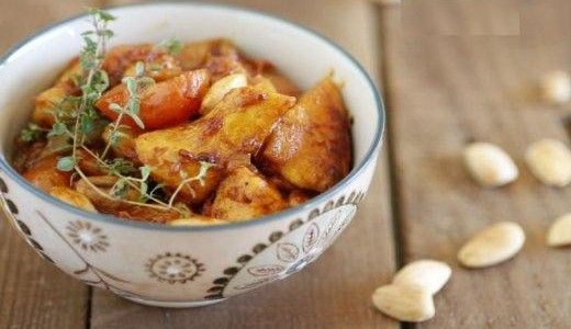 Cocina Arabe – Pollo a la miel con almendras