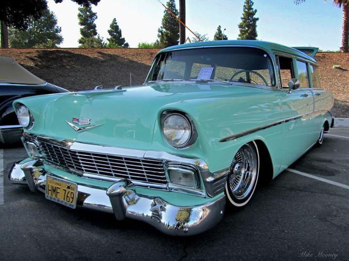 56 Chevy Wagon Lowriders Pinterest Chevy Colors