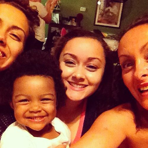 pics of nova and devon teen mom 3 | Now: No need for Sears -- selfie family photos are all the rage!