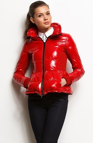 Glossy Puffer Jacket Holiday Pre Order Womens