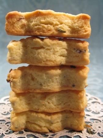 I biscottini alla lavanda