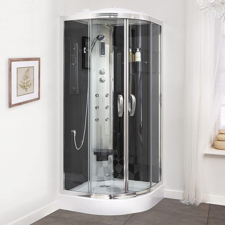 This 900 Quadrant Steam Shower Cabin Is A Fantastic Addition To Any  Bathroom Andu2026