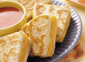 Pillsbury Grands Biscuit Grilled Cheese!