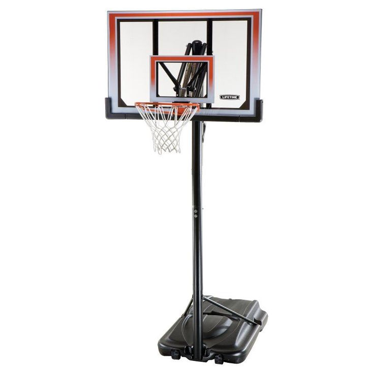 Lifetime 50 Inch Shatter Proof Portable Basketball Hoop - 71566