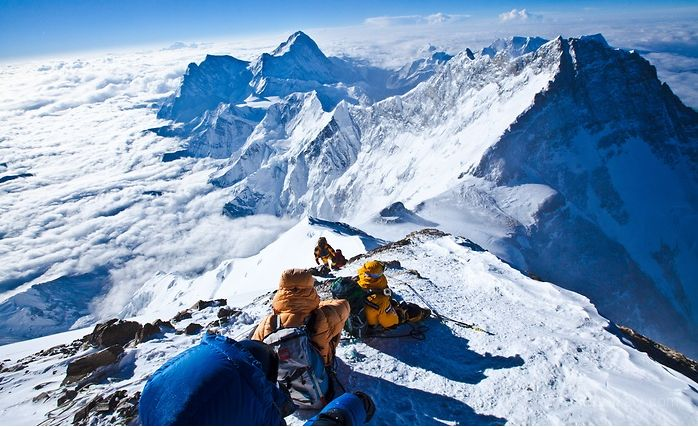 -On the top of the EVEREST-