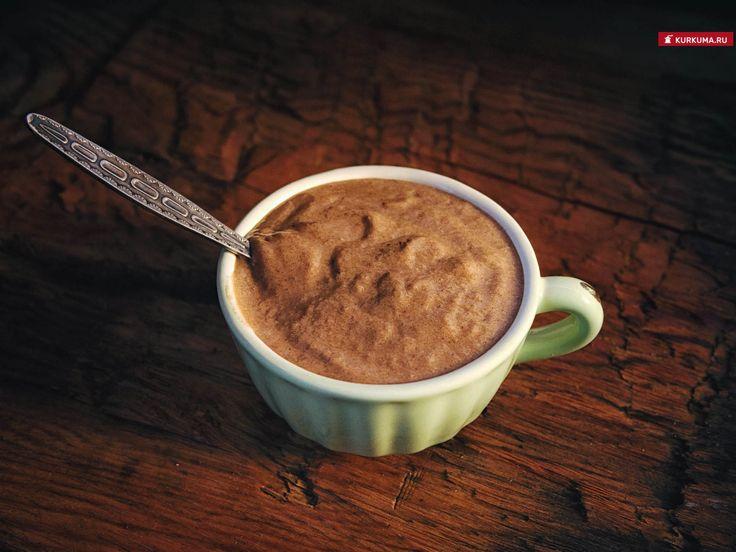 Шоколадный смузи с кунжутом