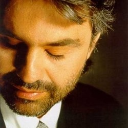 Andrea Bocelli....a tenor with a fabulous voice .
