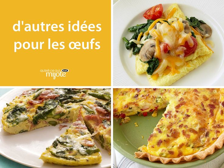 Avec notre collection de #recettes pour les œufs, vous aurez toujours sous la main une solution-repas simple.
