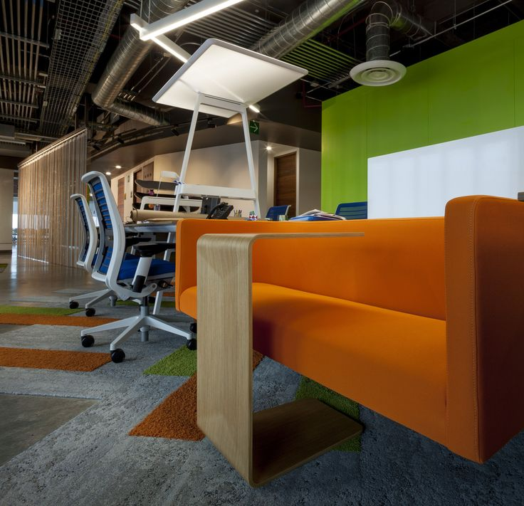 Gentera Innovation Lab Offices In Mexico City. Featuring Turnstone Bivi  Rumble Seat And Campfire Personal
