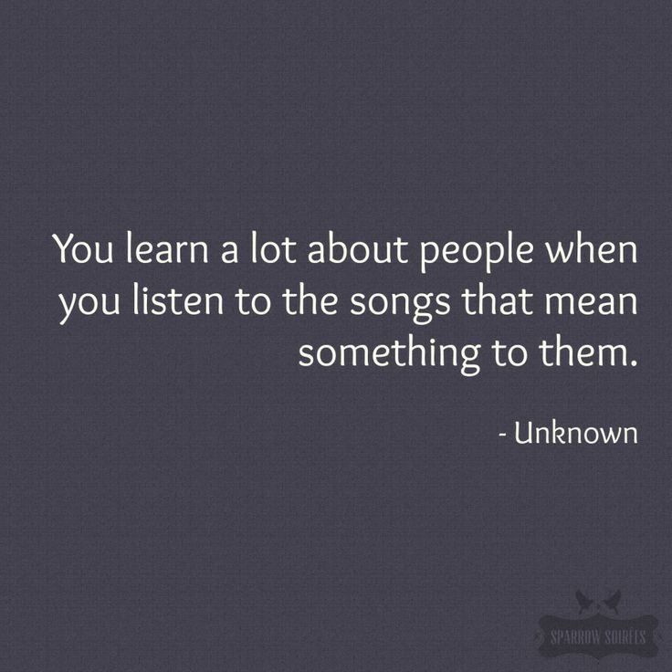 I absolutely LOVE this about people! Some of my newly favorite songs were passed on to me by acquaintances. Never miss an oportunity to talk music and ask about peoples favorites. =)