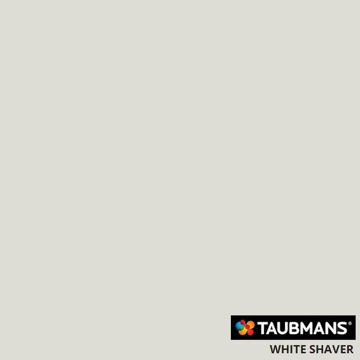 #Taubmanscolour #whiteshaver Main colour through house