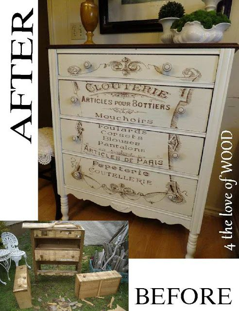 4 the love of wood restoring a Badly damaged chest of drawers and turning it into a thing of BEAUTY!