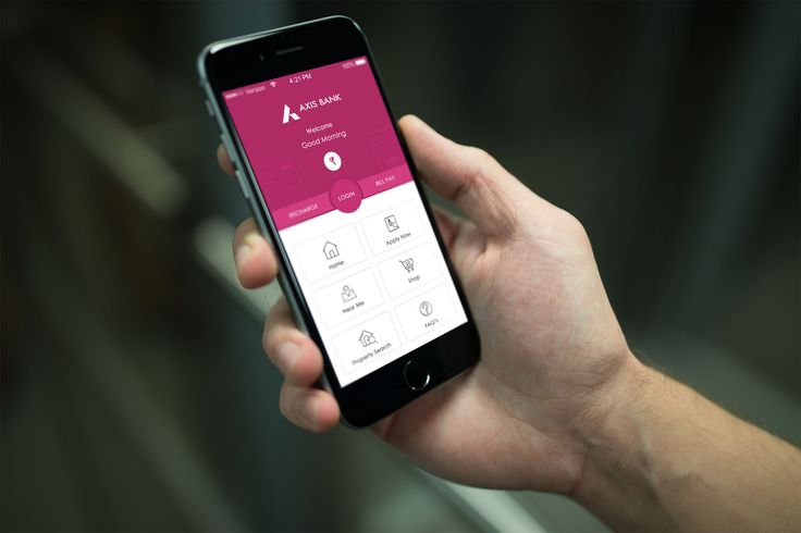 """Check out this @Behance project: """"Axis Bank App Redesign"""" https://www.behance.net/gallery/45306199/Axis-Bank-App-Redesign"""