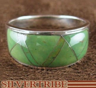 Turquoise And Sterling Silver Whiterock Eagle Valley Ring