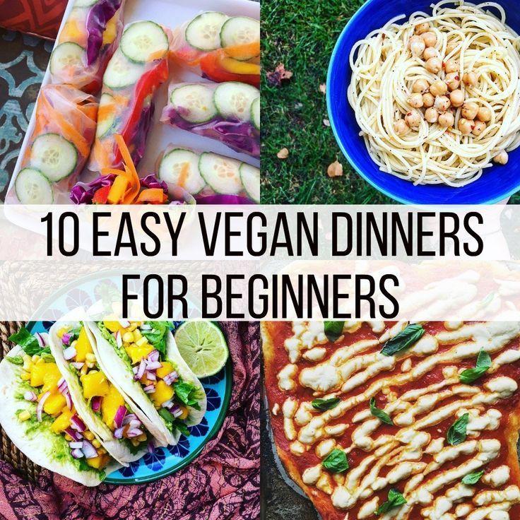 Cheap Easy Vegan Meals 50 Vegan Meals For Beginners Vegan Recipes Easy Vegan Recipes Beginner Vegan Recipes