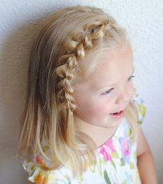 Brilliant 1000 Ideas About Cute Little Girl Hairstyles On Pinterest Short Hairstyles For Black Women Fulllsitofus