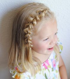 Fabulous 1000 Ideas About Cute Little Girl Hairstyles On Pinterest Short Hairstyles Gunalazisus