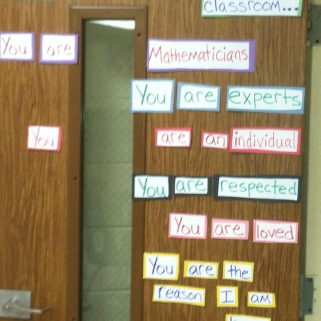 As 25 melhores ideias de Math door decorations no ...