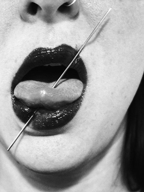 Body modifications bdsm tongue you