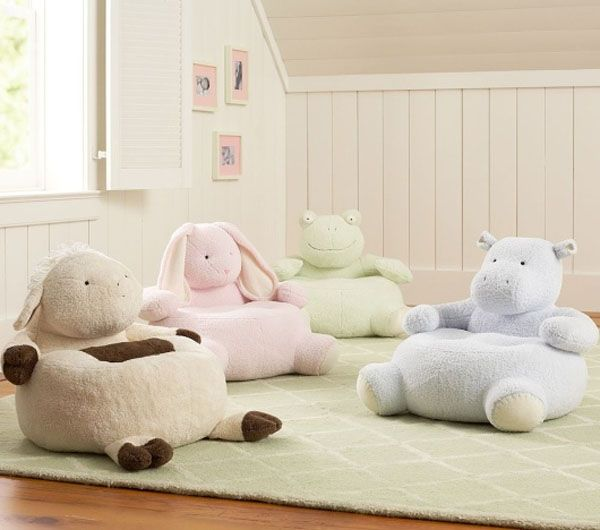 doll chair pastel Critter Chairs from Pottery Barn Kids 2