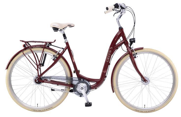#Greens #City #Balmoral #women #dark #red #Shimano #Fahrrad #20Lux #Kettenschutz #Nabenschaltung #8gang #Rücktritt #Aluminium #Rahmen #28Zoll #Schwalbe #Reifen mehr auf www.greens-bikes.de oder Ihrem #Händler