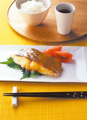 鯛の西京焼き風 | 小田真規子さんのレシピ【オレンジページnet】プロに ...