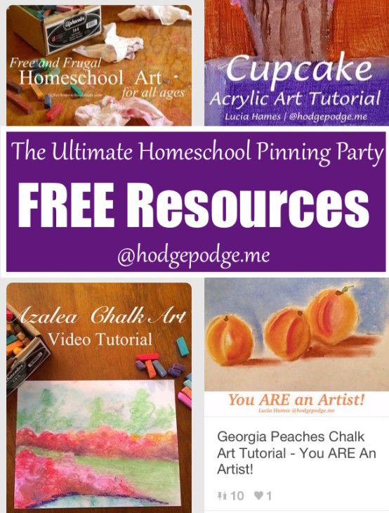 FREE Resources at The Ultimate Homeschool Pinning Party