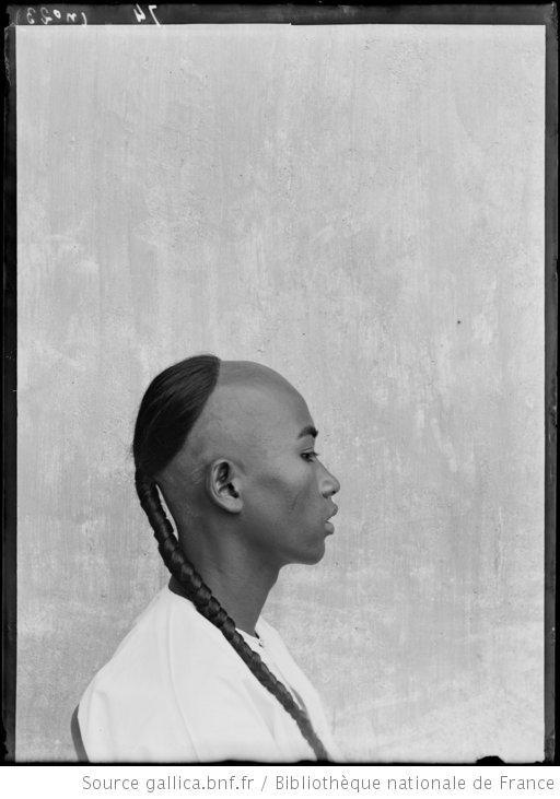 Firmin André Salles (1860-1929), photographe. Profil. Pursat, Cambodge.