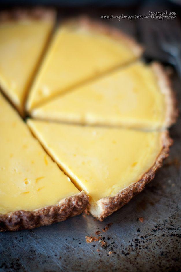 Kulinarne podróże: Klasyczna tarta cytrynowa (Classic lemon tart).