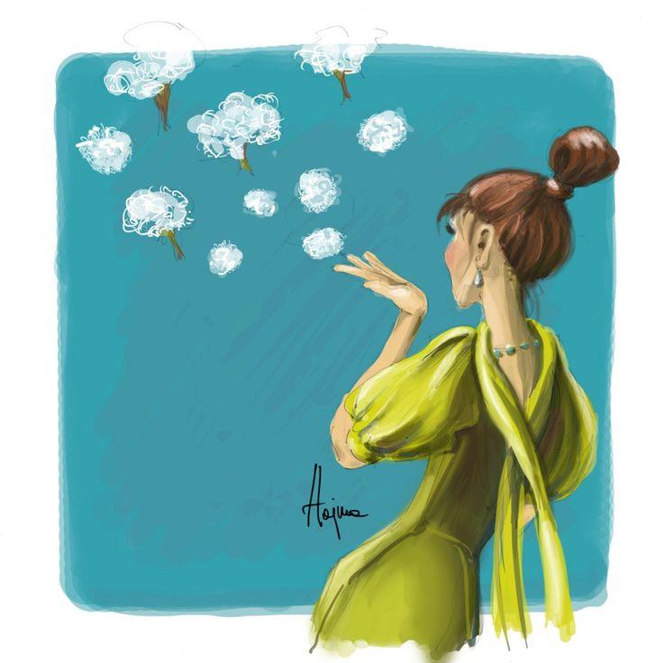 Cotton tree by Hajna