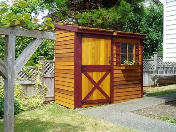 A Beautifully Finished Bayside Shed. Cedarshed.com · Cedar ShedsGarden ...