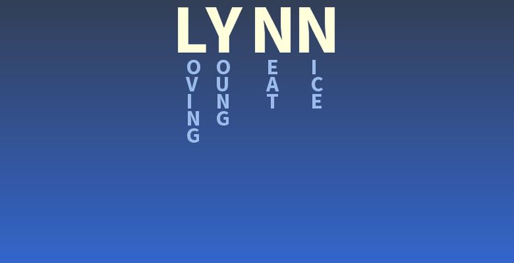 36 best Hello, My Name Is Lynn images on Pinterest